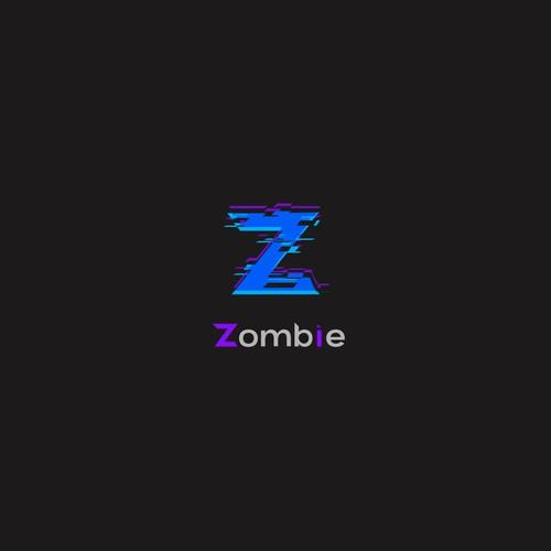 Fun glitch logo