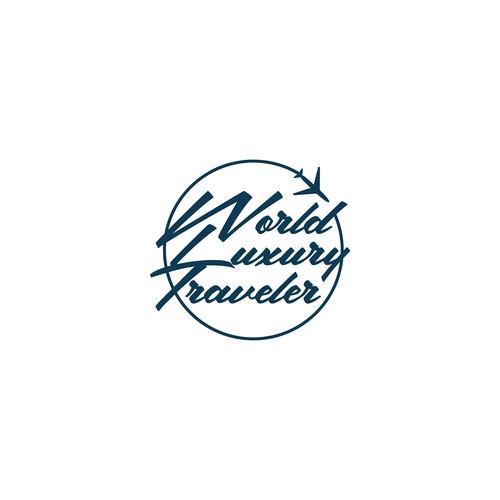 Logo concept for travel agent