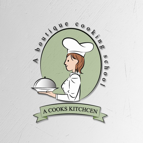 Logo concept for A Cooks Kitchen