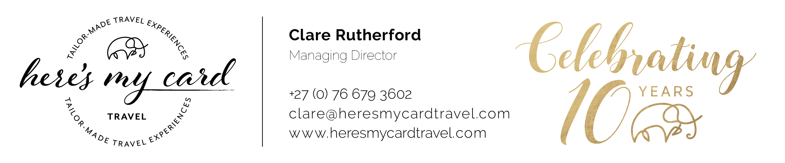 Here's My Card Travel 10