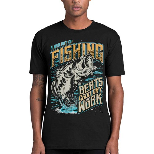 Available for Fishing T Shirt hit 1-to-1 project