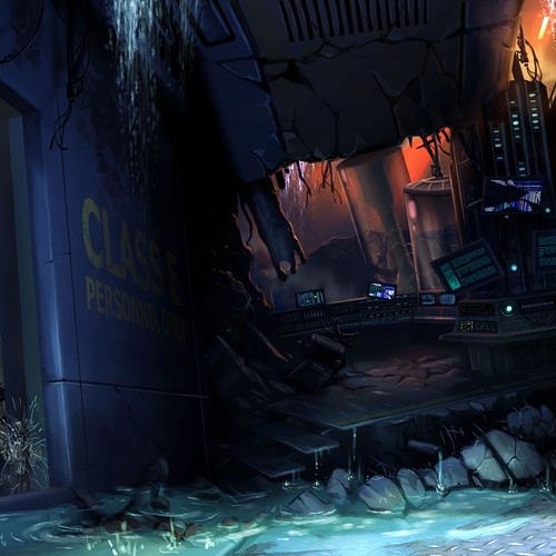 Concept Art of Underwater Research Station #2