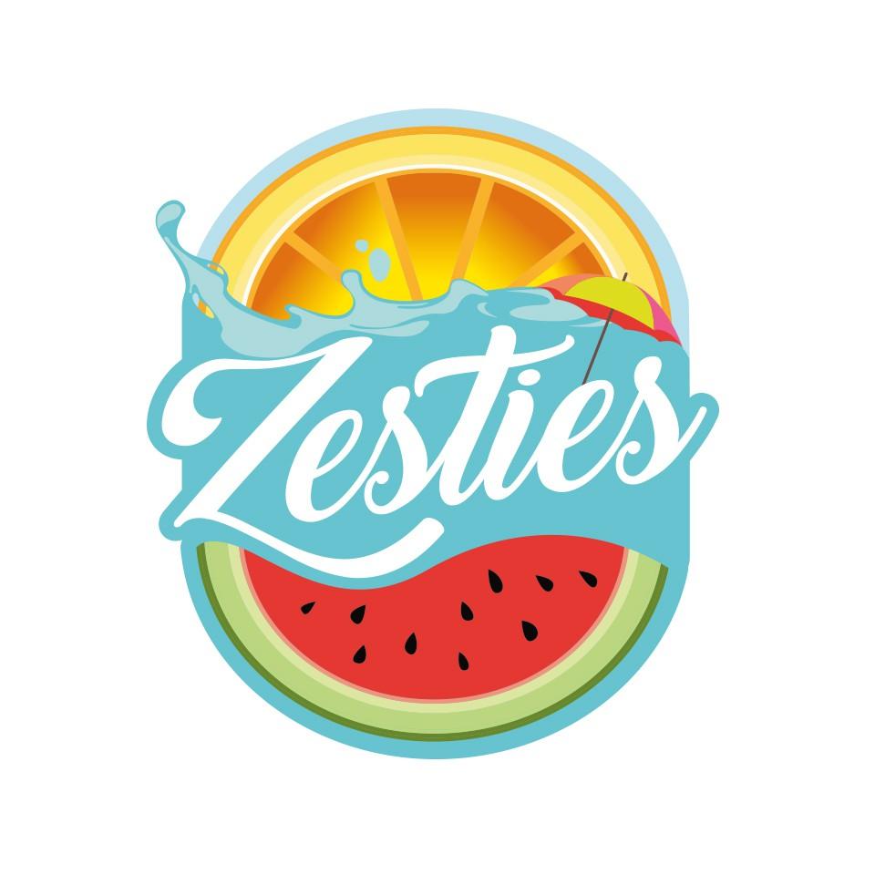 Zesties Summer Themed Logo