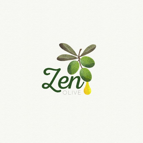 Logo for zen olive
