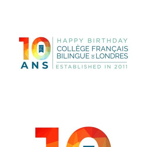 Logo design birthday CFBL