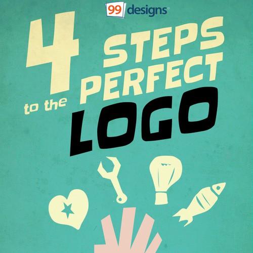 4 Steps to a Perfect Logo Design ebook Cover Design