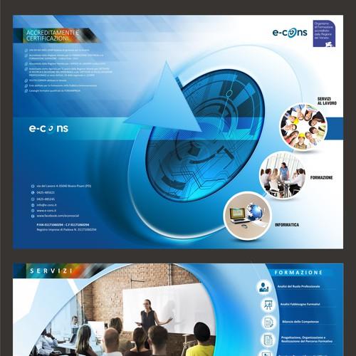 E-cons brochure design