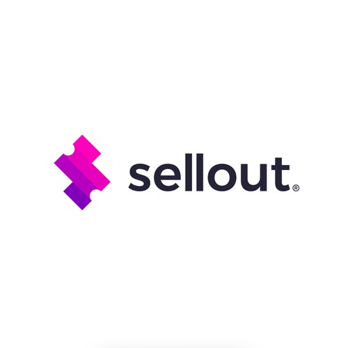 Logo concept for sellout