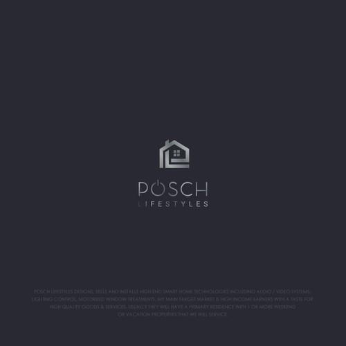 Smart home services logo