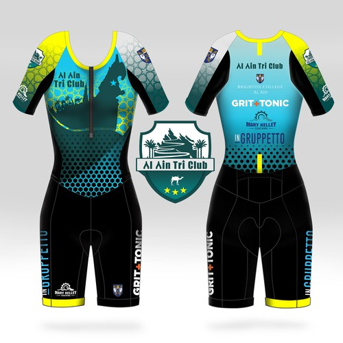 jersey design for Al Ain Tri Club Team