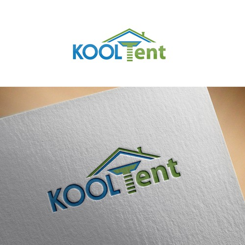 Smart logo concept for KOOLTent