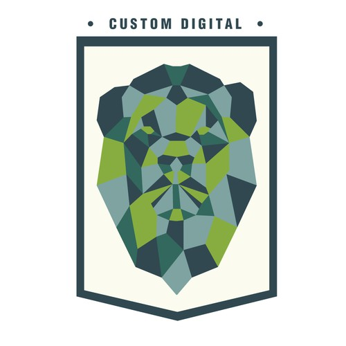 bold logo for custom digital