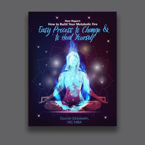 Natural Healing Booklet Requires Interior & Exterior Creative Design!