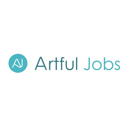 Logo for a jobs website in cultural organisations.