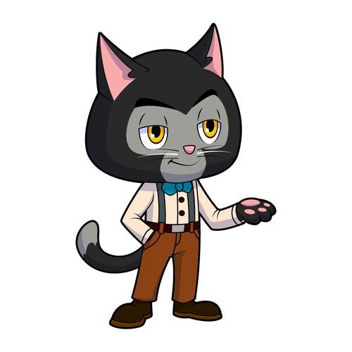 Cat Mascot Character Design