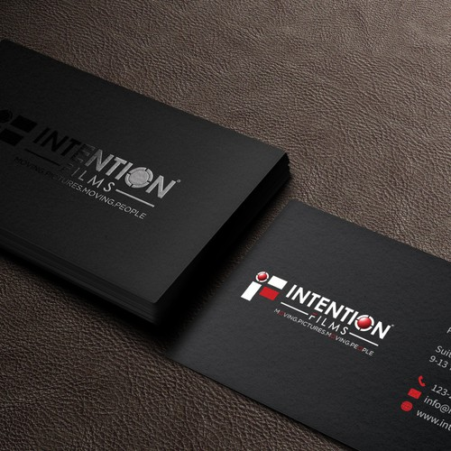 Film Company Business Card