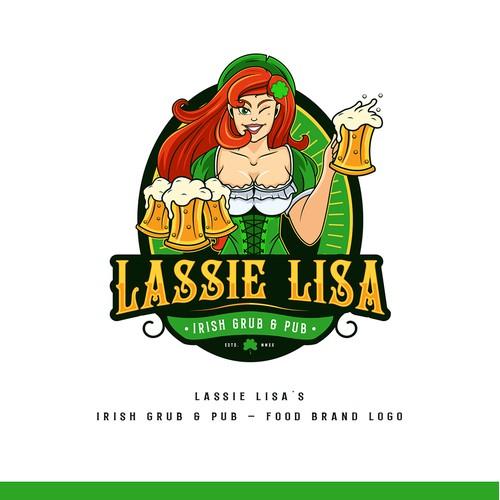 Food Brand Logo design for Lassie Lisa's
