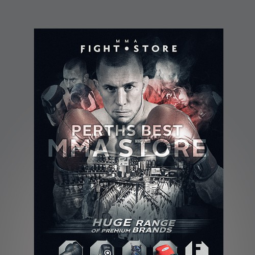 Retail poster design