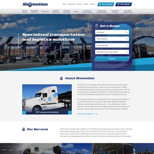 Shomotion - entertainment transportation and logistics