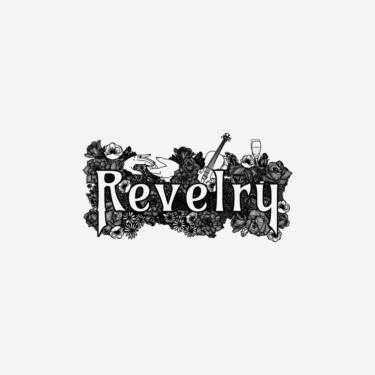 logo for Revelry Events