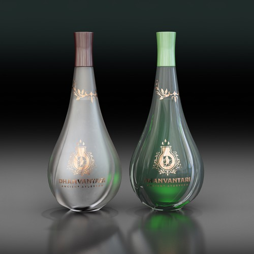 Design for Ayurvedic cosmetics