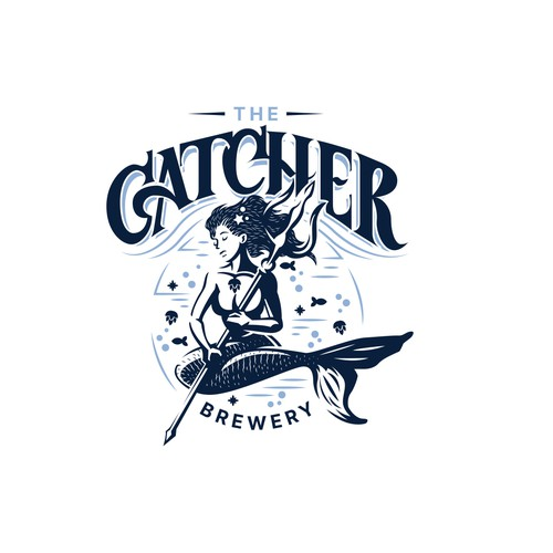 Logo concept for a brewery