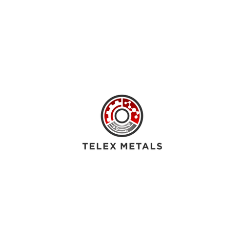 Modern Logo with vintage feel for Telex Metals