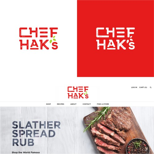 simple and memorable sauces product logo
