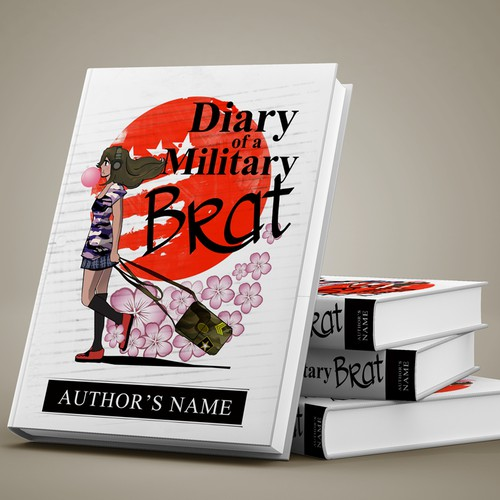 """Book Cover Entry for """"Diary of a Military Brat"""""""