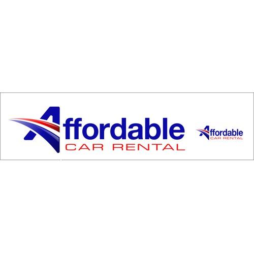 Create a logo for Affordable Car Rental
