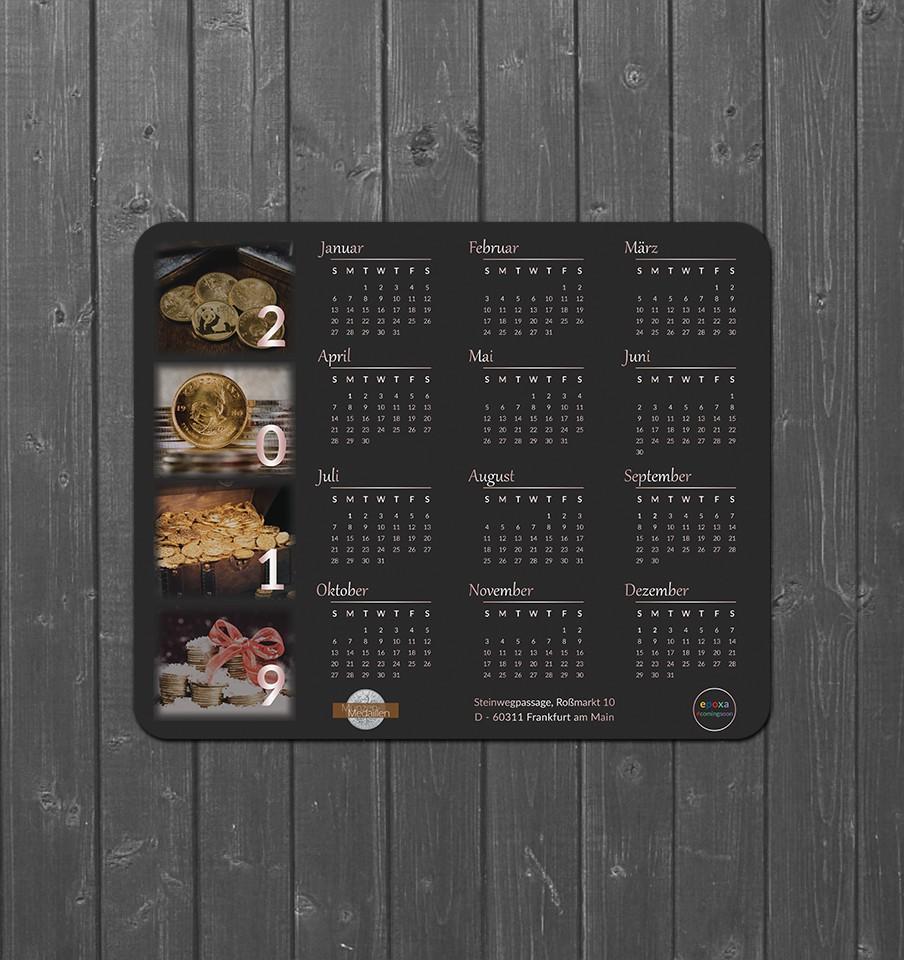 Calendar Mousepad 2019