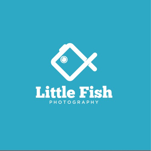 Logo for a photography company Little Fish