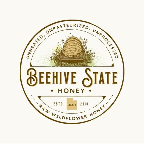 Honeyed logo design