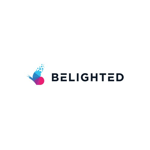 Belighted logo concept