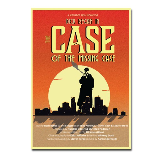 "movie poster for the short film ""The Case of the Missing Case"""