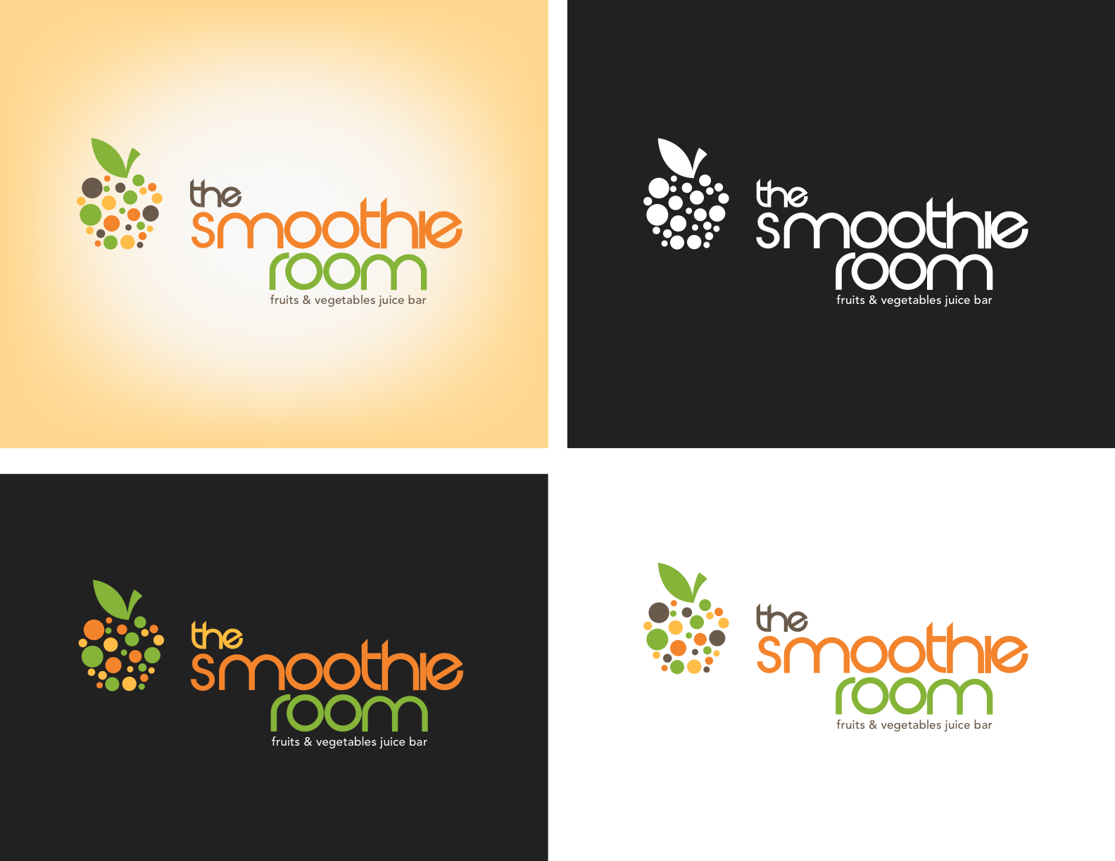logo for The Smoothie Room