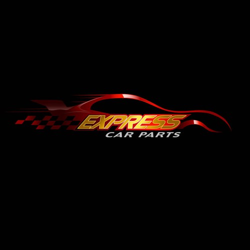 Car Spare Parts Store Logo