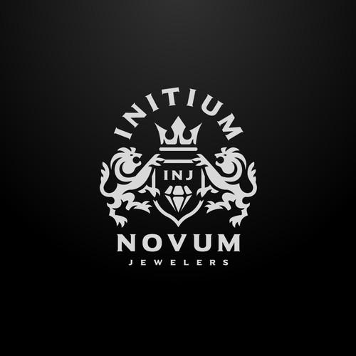 Heraldic Luxury Diamond Logo