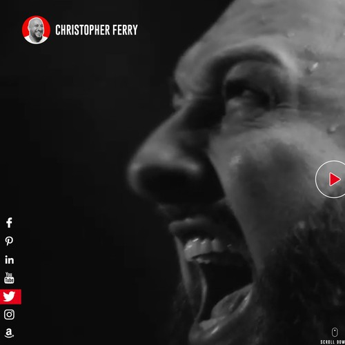 Christopher Ferry Personal Brand Website