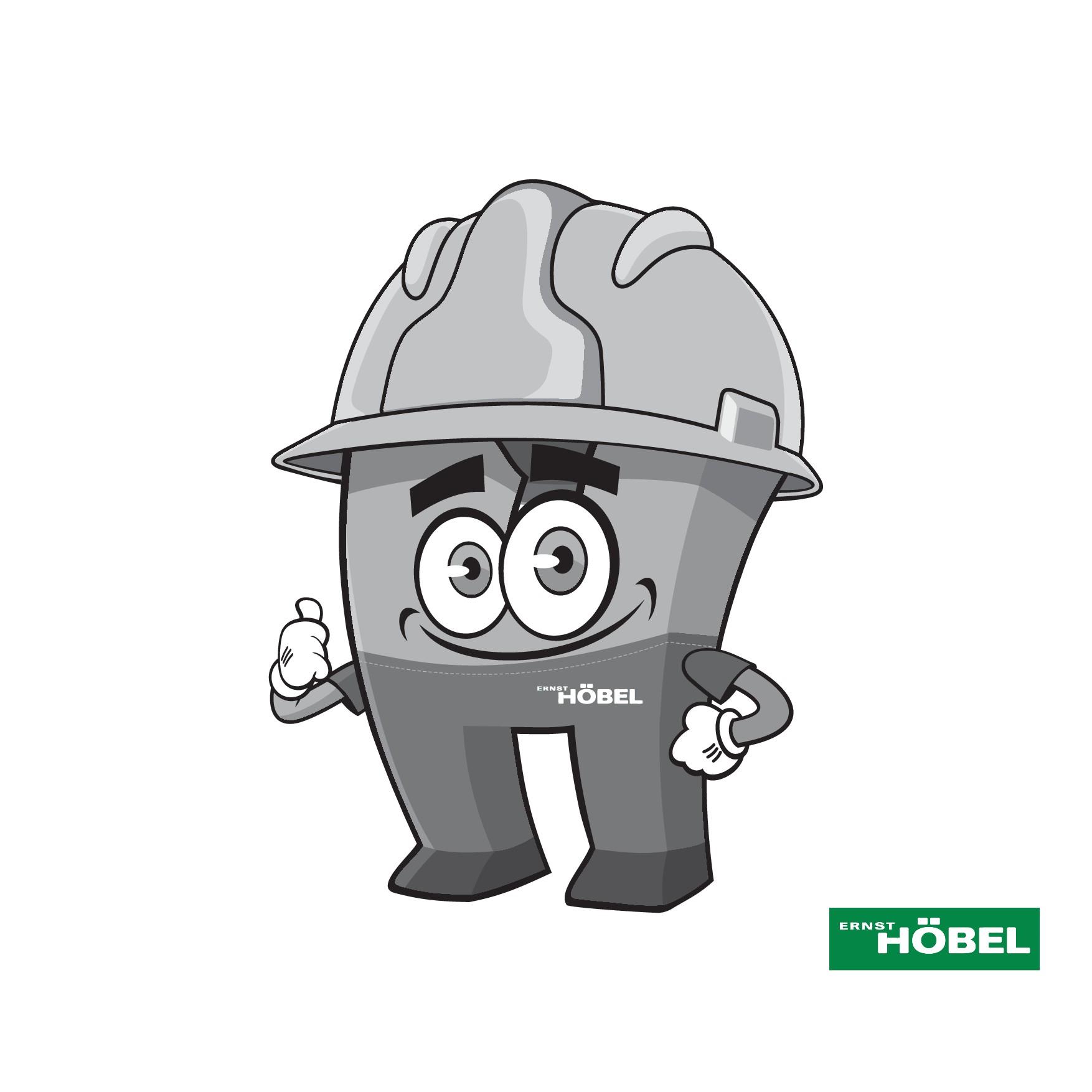 """Buchstabe H als Maskottchen / Letter """"H"""" as mascot"""