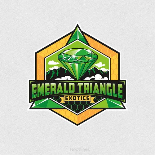 Emblem Logo for Emerald Triangle Exotics