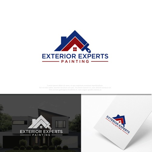 Logo for Exterior Experts Painting
