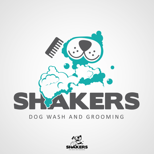 Dog Wash and Grooming Logo!