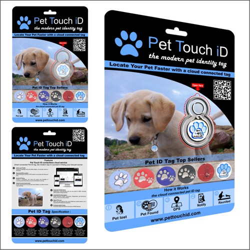 Modern Packing Pet Touch ID