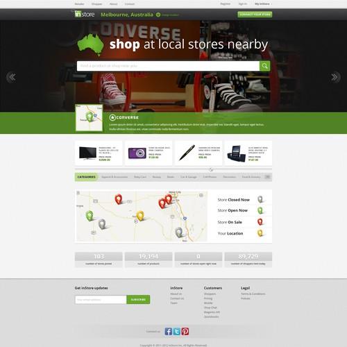 www.instore.com.au needs a new website design