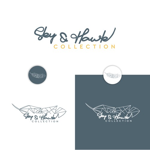 logo sky dan hawk collection