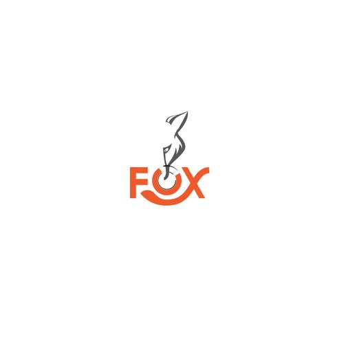 Bold logo concept for 3-FOX Restaurant