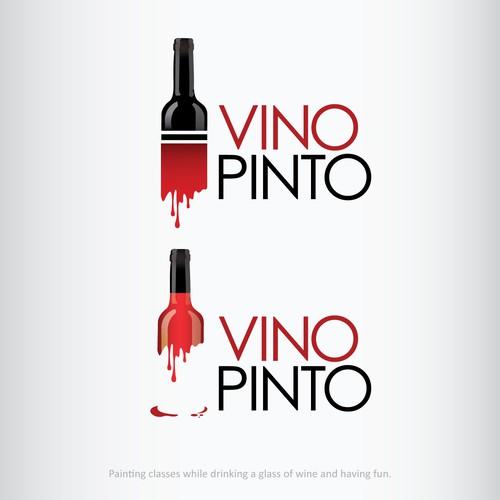 Vino Pinto Contest Logo Winner