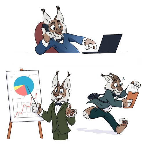 Lynx character design