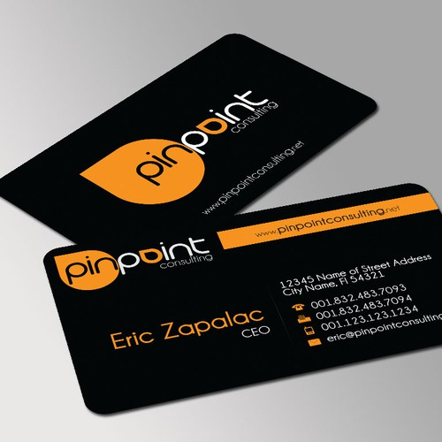 Create the next stationery for PinPoint Consulting